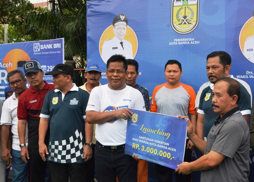 Mulai Sekarang Warga Kota Banda Aceh Akan Mendapatkan Santunan Apabila Aceh Monitor
